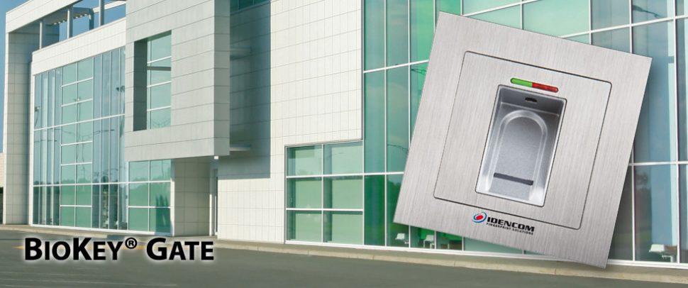 Zamki biometryczne dla firm Gate czytnik linii papilarnych