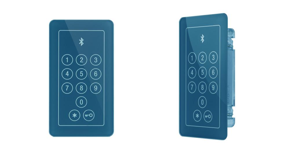 Otwieranie drzwi telefonem komórkowym Bluetooth&Code